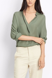 Vince Double Front Blouse - Product Mini Image