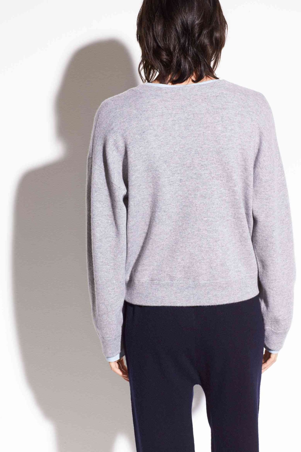 Vince Double Layer Cashmere - Front Full Image