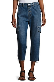 Vince Drop Slouch Cargo Jeans - Front cropped