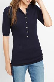 Vince Elbow Sleeve Henley - Product Mini Image