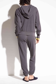 Vince French Terry Hoodie - Side cropped