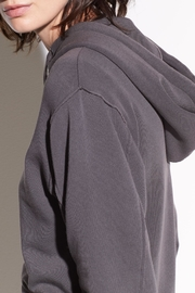 Vince French Terry Hoodie - Front full body
