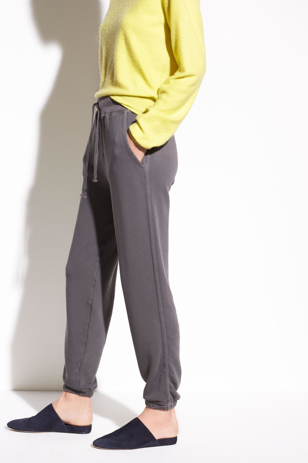 Vince French Terry Sweatpants - Front Full Image