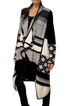 Vince Graphic Knit Jacket - Product List Image