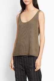 Vince Lattice Stitch Tank - Product Mini Image