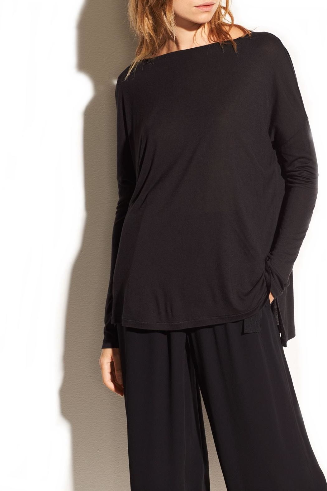 Vince Off Shoulder Top - Front Cropped Image
