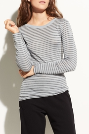 Vince Pinstriped Longsleeve Tee - Front cropped