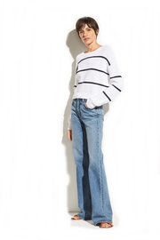 Vince Racked Rib Sweater - Front cropped
