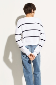 Vince Racked Rib Sweater - Back cropped
