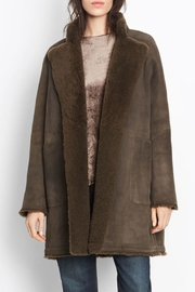 Vince Reversible Shearling Coat - Product Mini Image