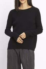 Vince Ribbed Raglan Sweater - Product Mini Image