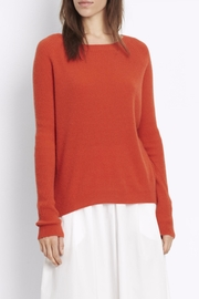 Vince Ribbed Raglan Sweater - Front cropped