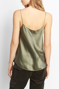 Vince Scallop Shirttail Camisole - Alternate List Image