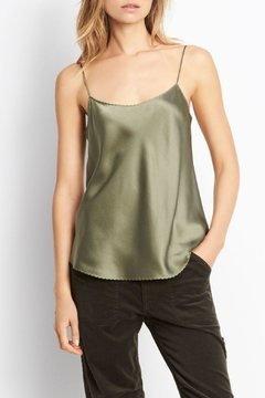 Vince Scallop Shirttail Camisole - Product List Image