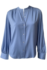 Vince Shirred Back Blouse - Product Mini Image