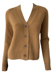 Vince Shrunken Button Cardigan - Product Mini Image