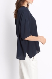 Vince Silk Crew Tee - Front full body