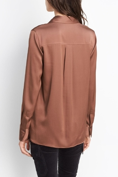 Vince Slim Fitted Blouse - Alternate List Image