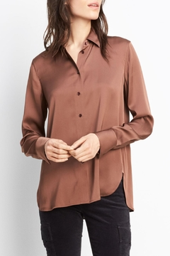 Vince Slim Fitted Blouse - Product List Image