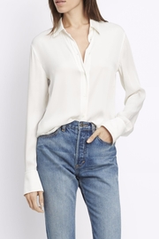 Vince Slim Fitted Blouse - Product Mini Image