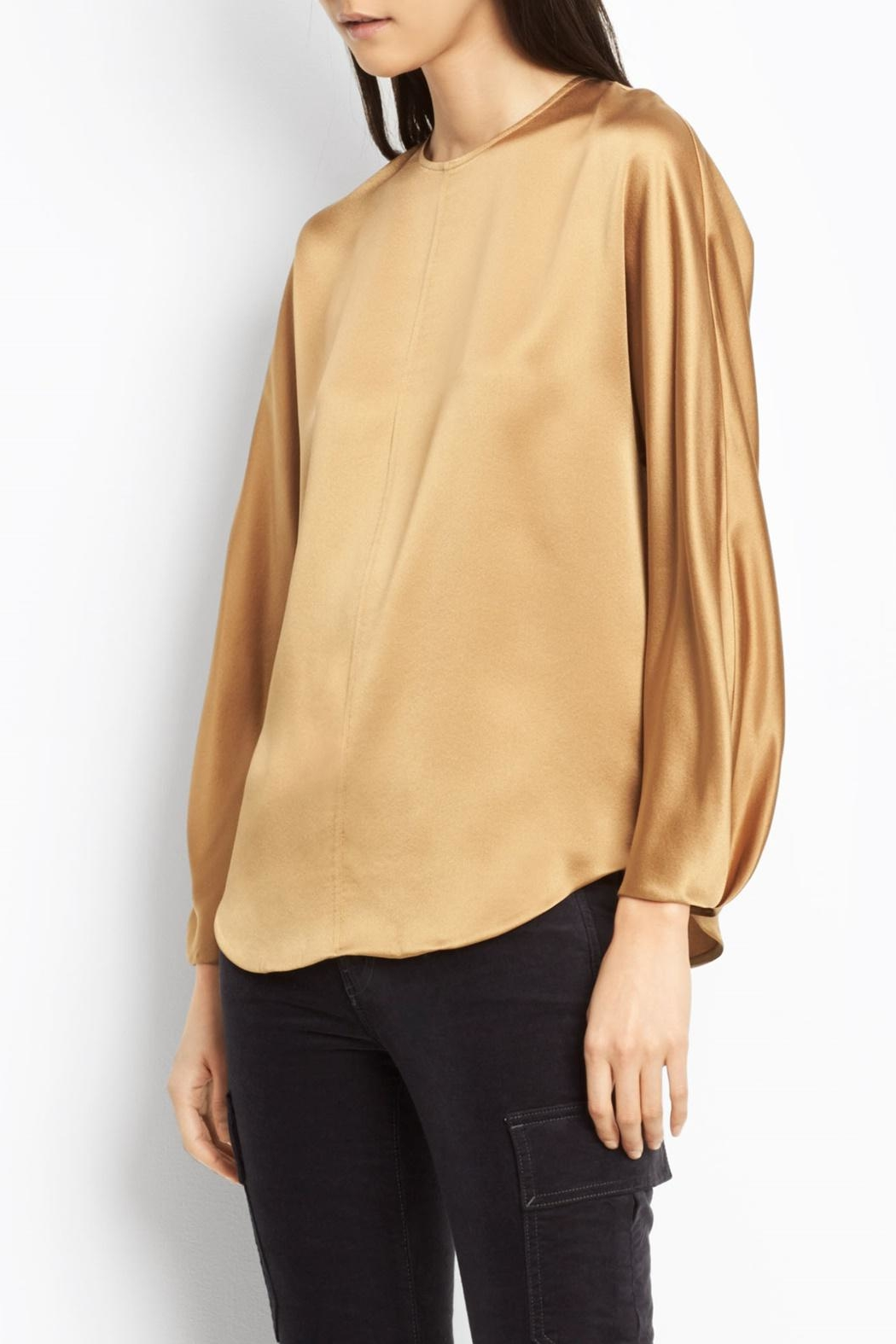 Vince Slit Back Blouse - Main Image