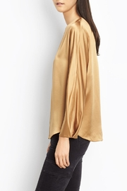 Vince Slit Back Blouse - Front full body