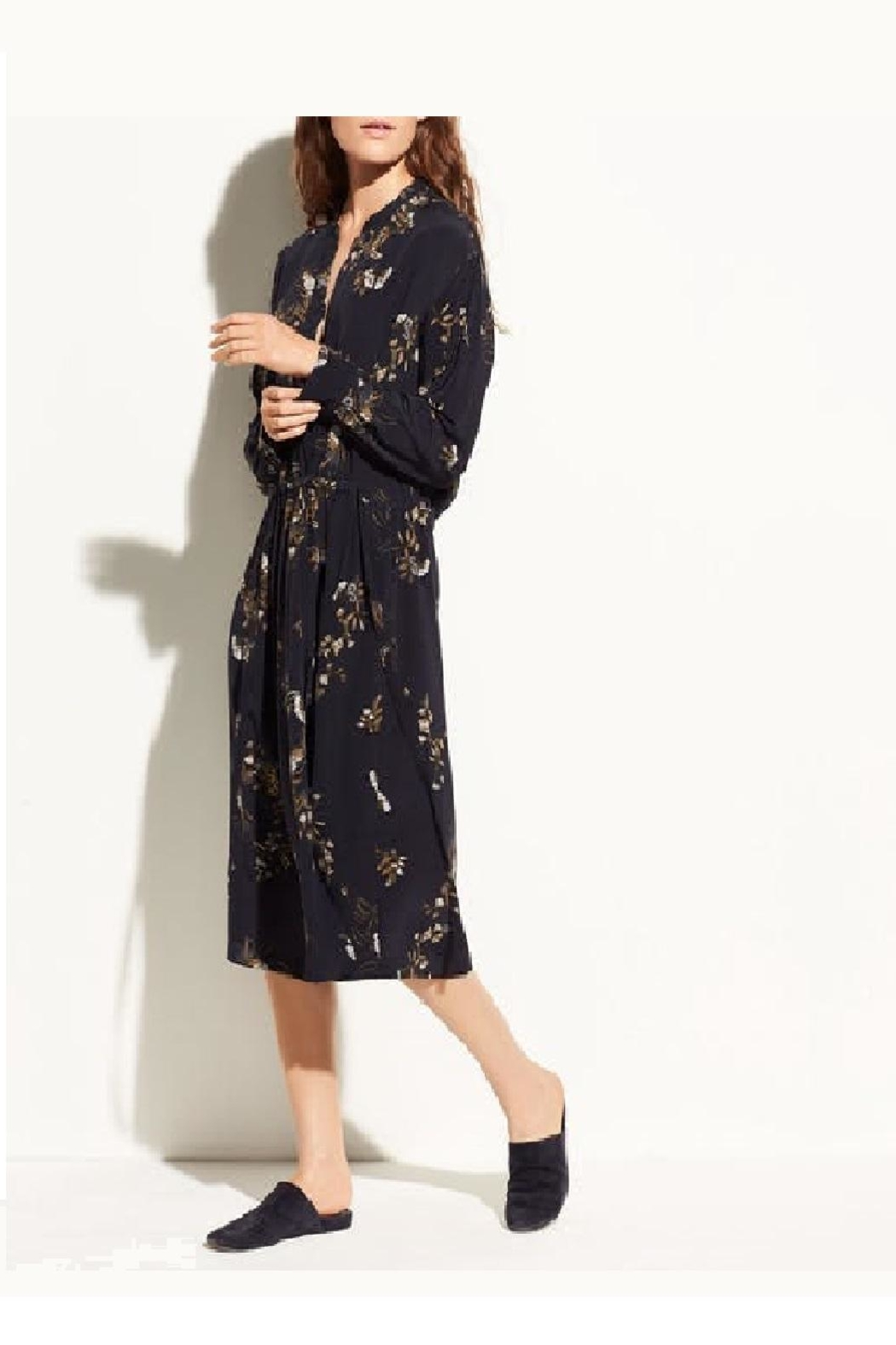 Vince Spaced Floral Shirdress - Main Image