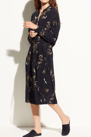 Vince Spaced Floral Shirdress - Product Mini Image