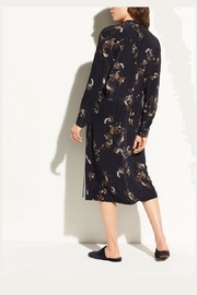 Vince Spaced Floral Shirdress - Front full body