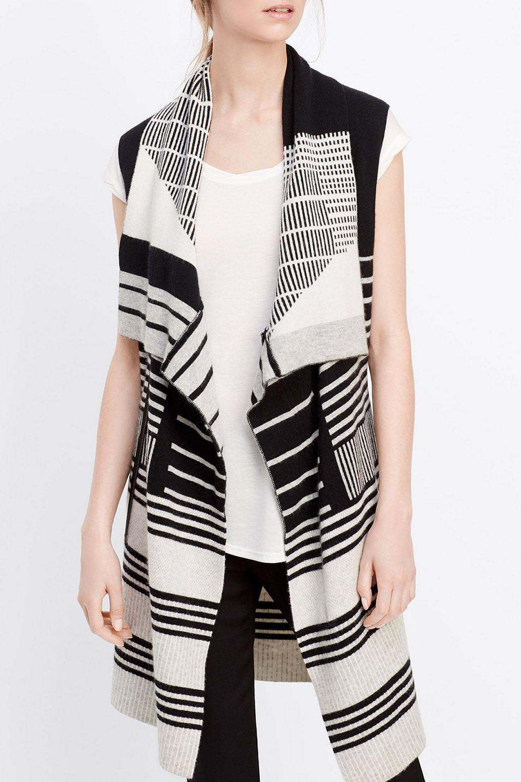 Vince Striped Sweater Vest from Mississippi by Cicada — Shoptiques