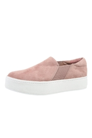 Vince Suede Platform Sneakers - Product Mini Image