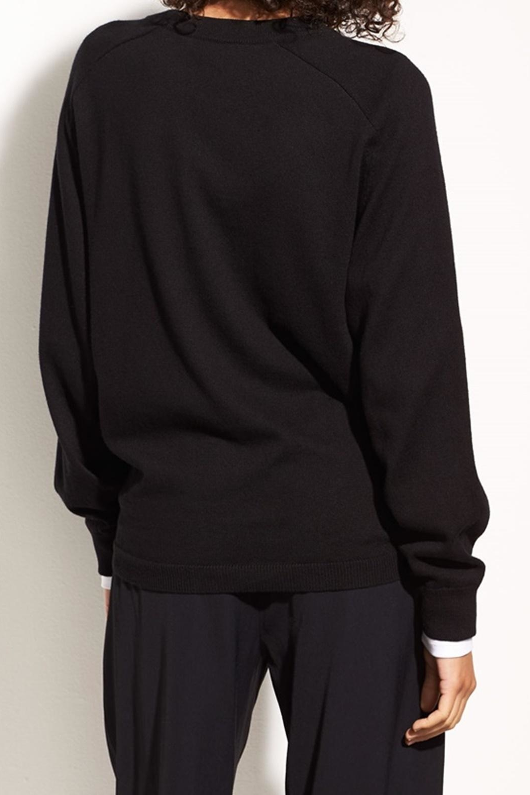 Vince Tie Waist Crew - Side Cropped Image