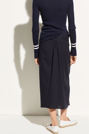 Vince Twist Front Skirt - Back cropped