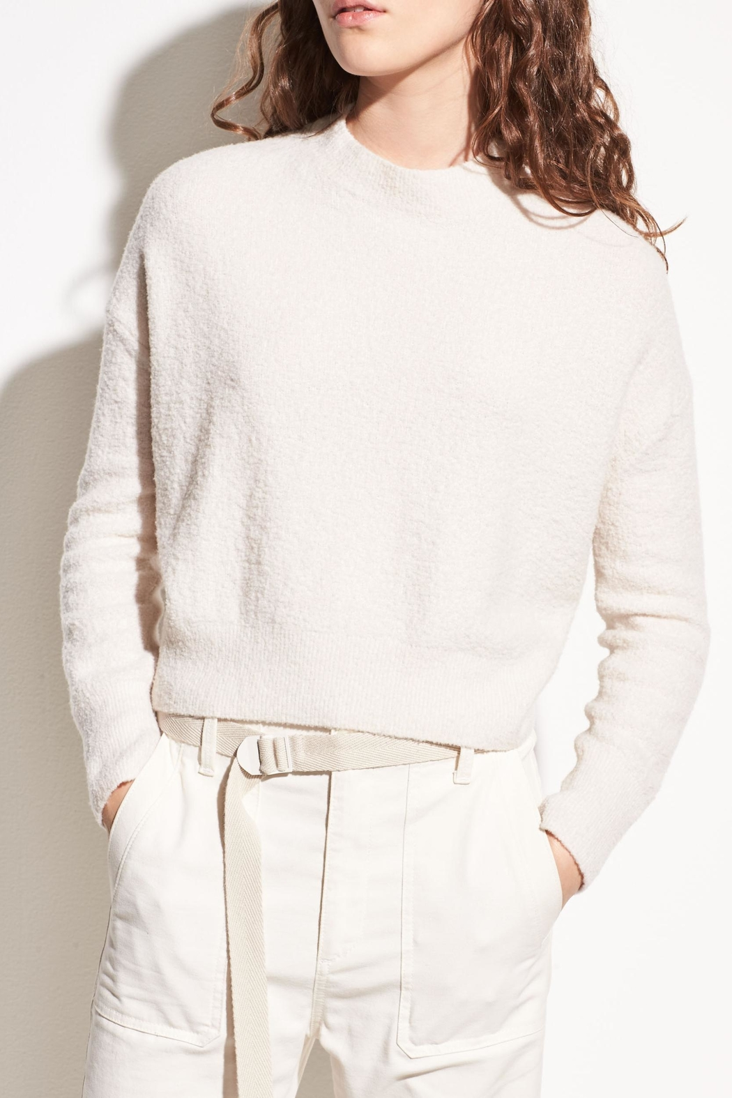 Vince Wool Boucle Pullover - Main Image