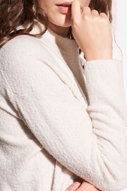 Vince Wool Boucle Pullover - Side cropped