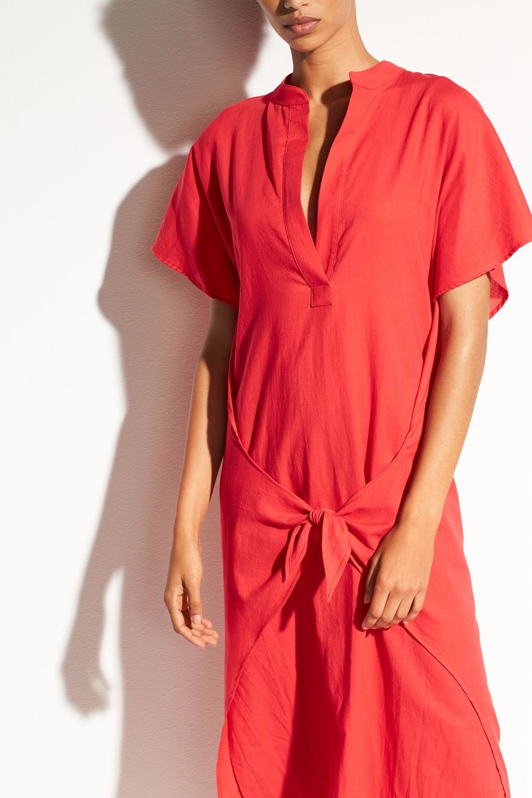 Vince Wrap Front Dress - Side Cropped Image