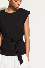 Vince Wrap Waist Top - Product Mini Image