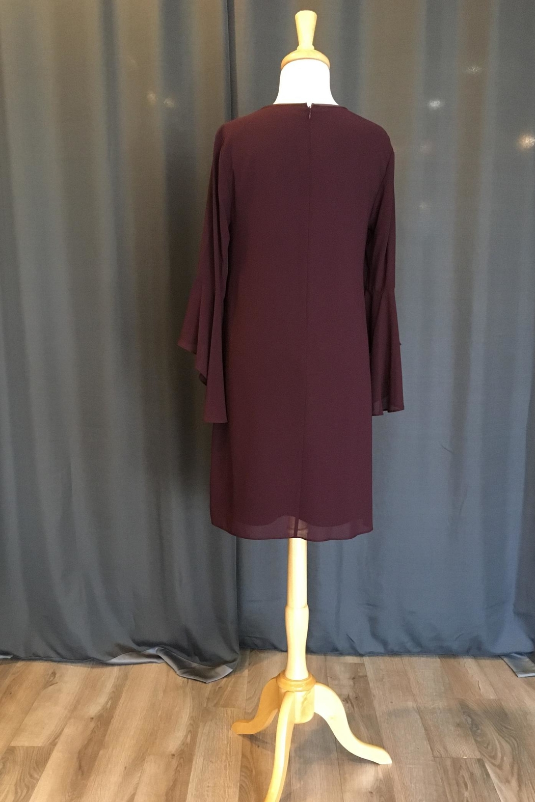 Vince Camuto Bell Sleeve Dress - Front Full Image