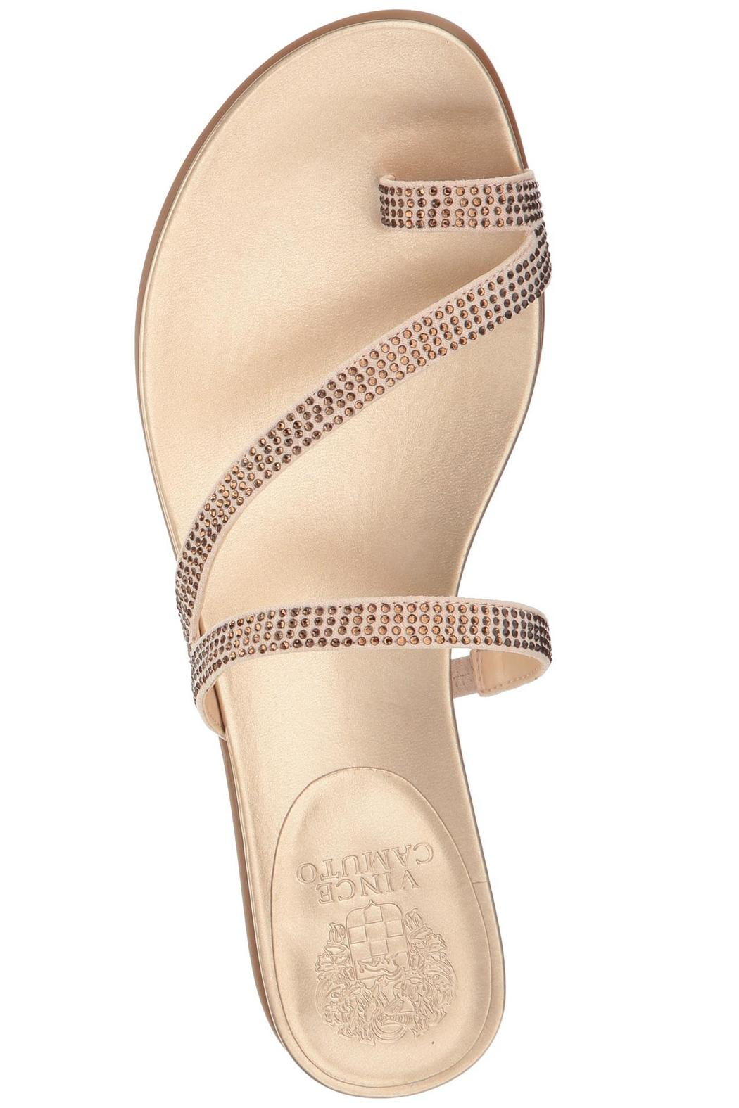be6ed986deb01a ... Vince Camuto Evina Sparkle Sandal - Side Cropped Image in stock a237c  ae944  Vince Camuto Silver White Sandal - Front ...