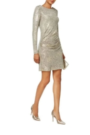 Vince Camuto Ruched Cowl Back Dress - Product Mini Image