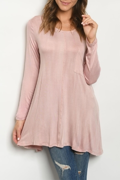 Vine & Love Blush Scoop-Neck Tunic - Product List Image