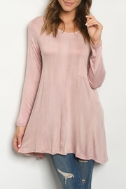 Vine & Love Blush Scoop-Neck Tunic - Product Mini Image