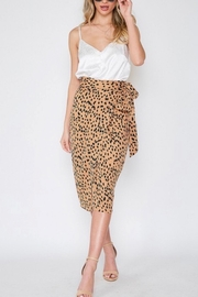Vine & Love Dot Wrap Skirt - Product Mini Image