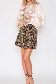 Vine & Love Gold Silk Blouse - Product Mini Image
