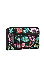 Vera Bradley Vines Floral Turnlock - Front full body