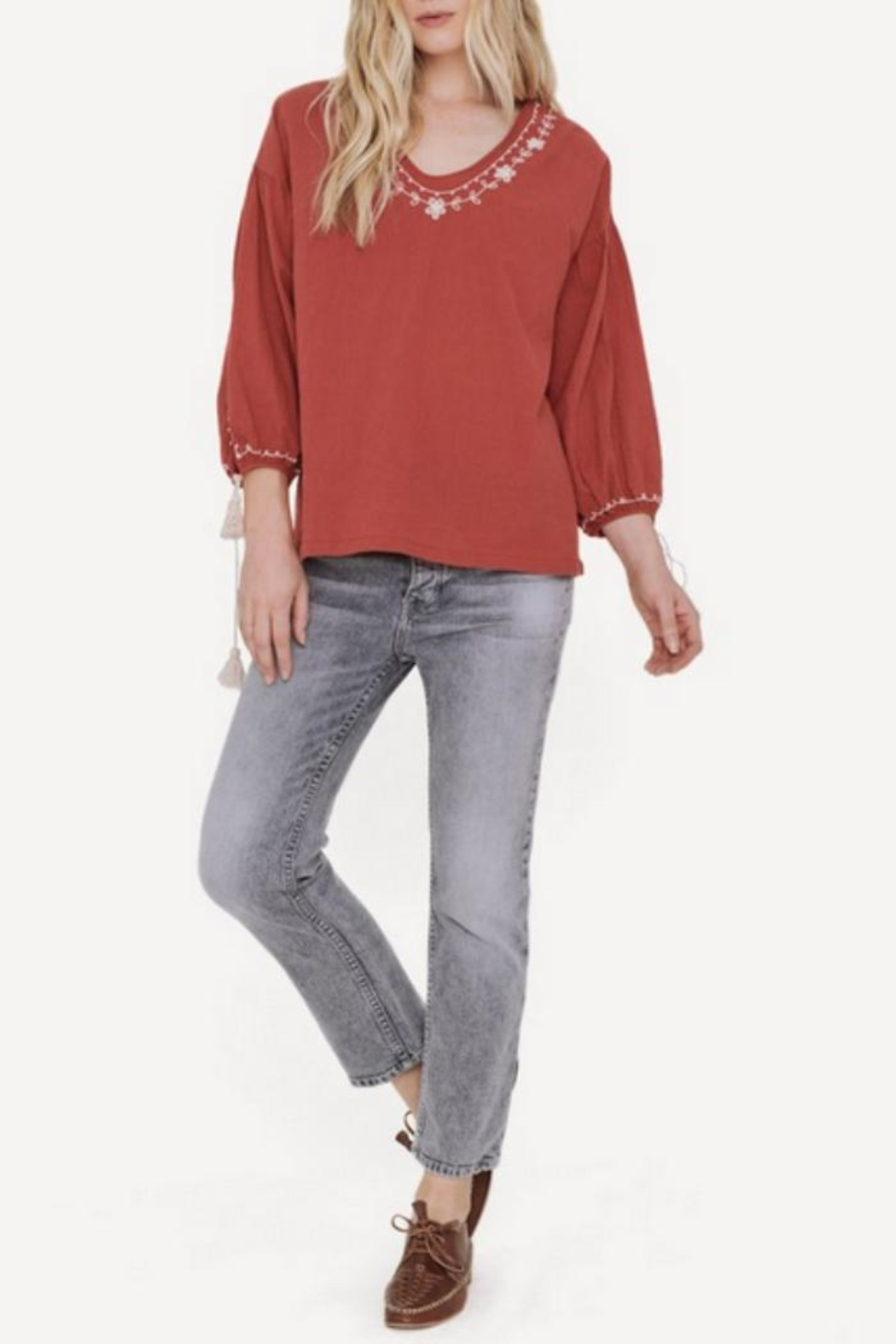 The Great Vineyard Tunic - Side Cropped Image