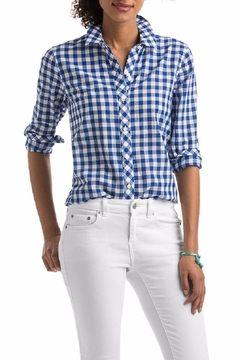 Shoptiques Product: Gingham Relaxed Shirt