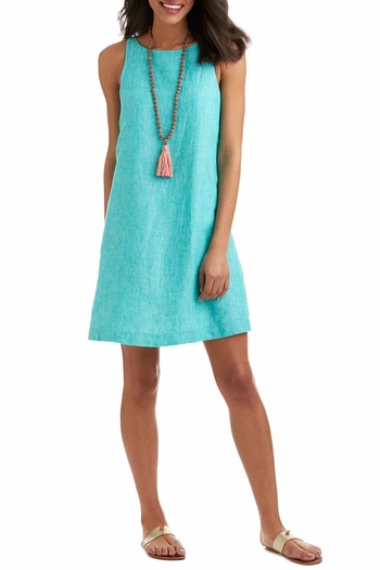 Vineyard Vines Turquoise Sleeveless Dress From Ohio By Amy