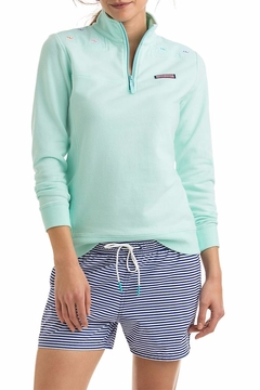 Vineyard Vines Whale Embroidered Sweater - Product List Image