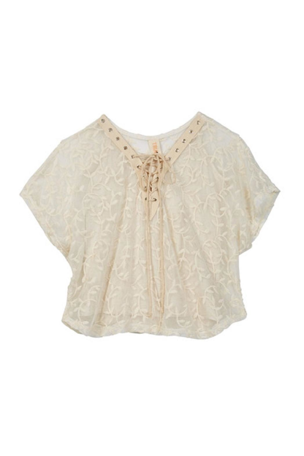 Truluv Vining Lace Top - Main Image